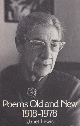 Cover of Poems Old and New, 1918-1978