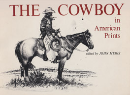 Cover of 'The Cowboy in American Prints'