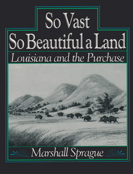Cover of 'So Vast So Beautiful A Land'