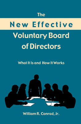 Cover of 'The  New Effective Voluntary Board of Directors'