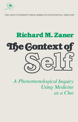 Cover of 'The Context of Self'