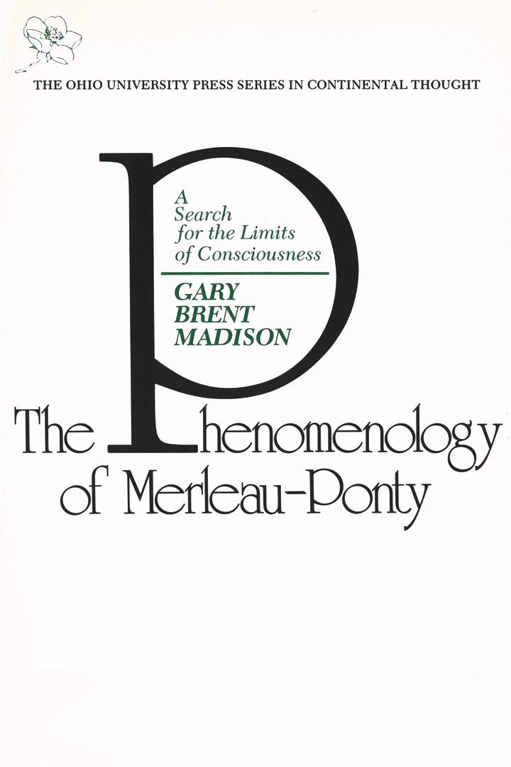 Cover of 'Phenomenology of Merleau-Ponty'