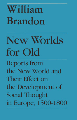 Cover of 'New Worlds for Old'