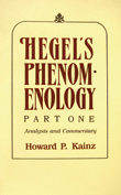 Cover of 'Hegel's Phenomenology, Part 1'