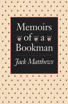 Cover of 'Memoirs of a Bookman'