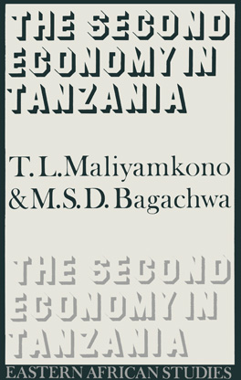 Cover of 'Second Economy in Tanzania'