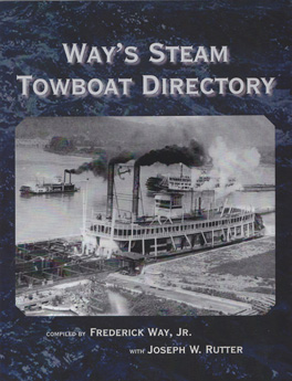 Cover of 'Way's Steam Towboat Directory'