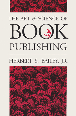 Cover of 'The Art and Science of Book Publishing'