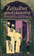 Cover of 'Zanzibar under Colonial Rule'