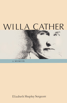 Cover of Willa Cather