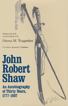 Cover of 'John Robert Shaw'
