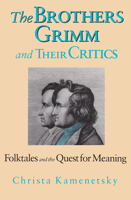 Cover of 'The Brothers Grimm and Their Critics'