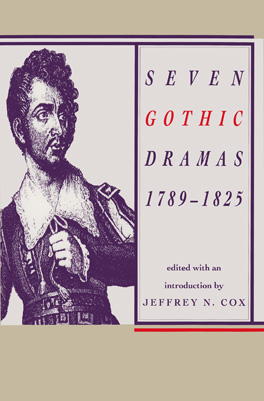Cover of 'Seven Gothic Dramas, 1789–1825'