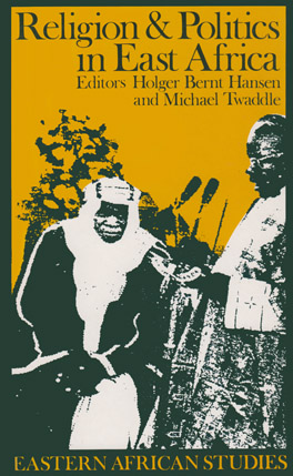 Cover of 'Religion and Politics in East Africa'