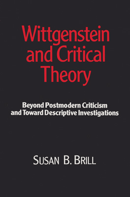 Cover of 'Wittgenstein and Critical Theory'