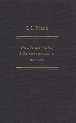 Cover of 'S. L. Frank'