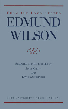 Cover of 'From the Uncollected Edmund Wilson'