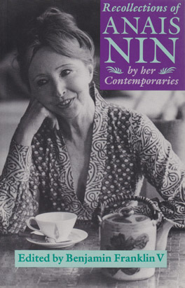 Cover of 'Recollections of Anaïs Nin'