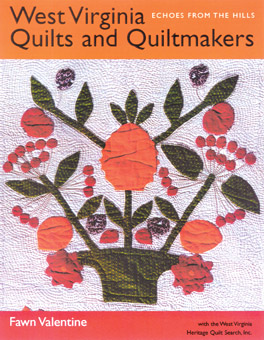 Cover of West Virginia Quilts and Quiltmakers