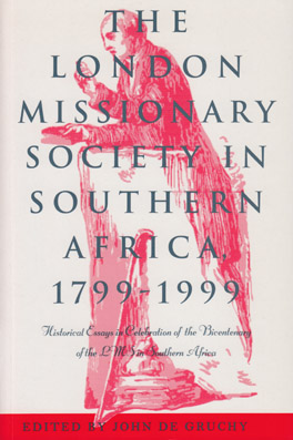 Cover of 'The London Missionary Society in Southern Africa, 1799–1999'