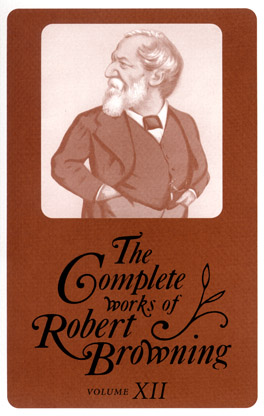Cover of 'The Complete Works of Robert Browning, Volume XII'