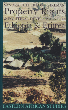Cover of 'Property Rights & Political Development in Ethiopia & Eritrea'