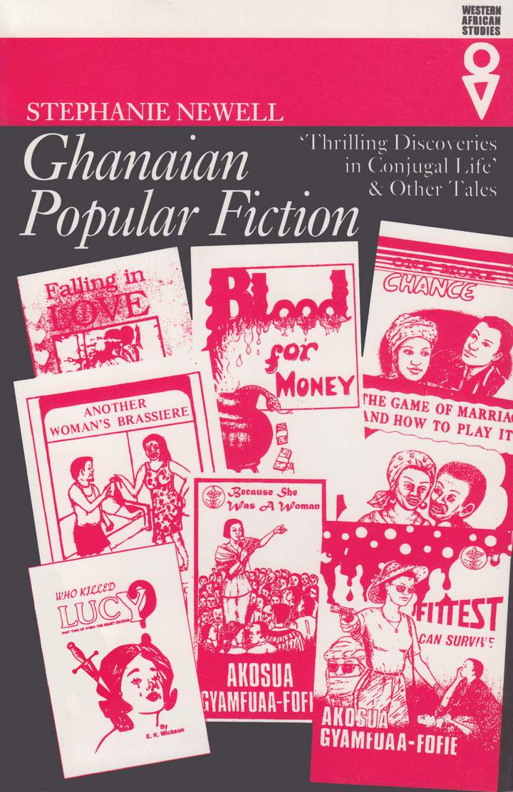 Cover of 'Ghanaian Popular Fiction'