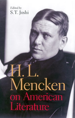 Cover of H. L. Mencken on American Literature