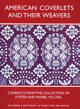 Cover of 'American Coverlets and Their Weavers'