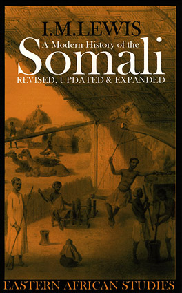 Cover of A Modern History of the Somali