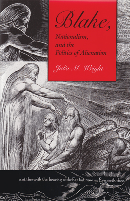 Cover of Blake, Nationalism, and the Politics of Alienation