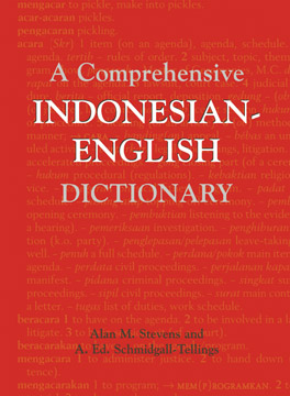 Cover of 'A Comprehensive Indonesian-English Dictionary'