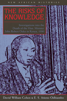 Cover of 'The Risks of Knowledge'