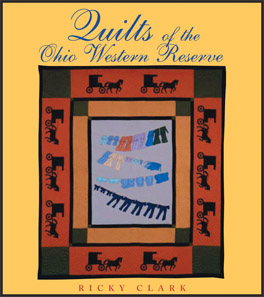 Cover of 'Quilts of the Ohio Western Reserve'