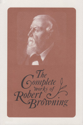 Cover of 'The Complete Works of Robert Browning, Volume XV'