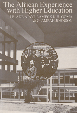 Cover of 'The  African Experience with Higher Education'