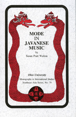 Cover of 'Mode in Javanese Music'