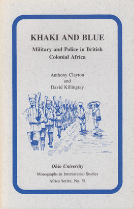 Cover of 'Khaki and Blue'