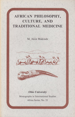 Cover of 'African Philosophy, Culture, and Traditional Medicine'