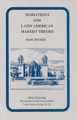 Cover of 'Mariátegui and Latin American Marxist Theory'