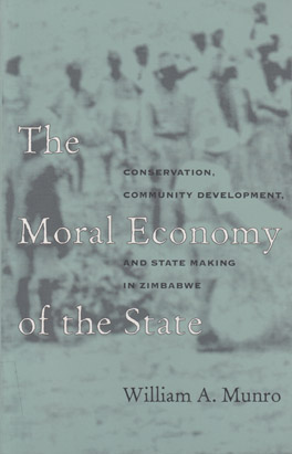 Cover of The Moral Economy of the State