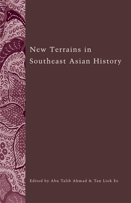 Cover of 'New Terrains in Southeast Asian History'