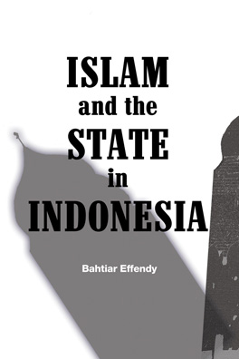 Cover of 'Islam and the State in Indonesia'
