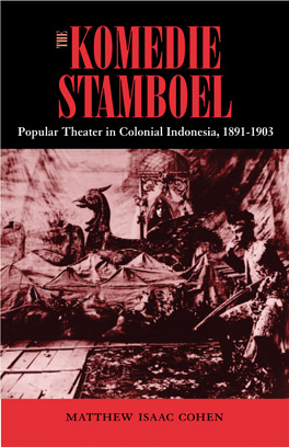 Cover of The Komedie Stamboel
