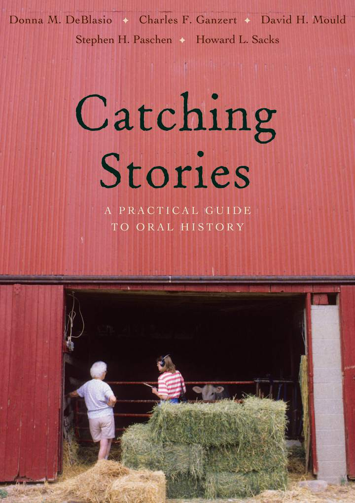 Cover of 'Catching Stories'