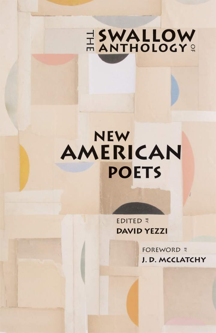 Cover of 'The Swallow Anthology of New American Poets'