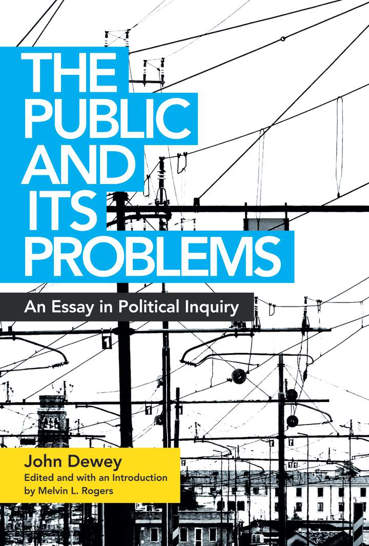 Cover of 'The Public and Its Problems'