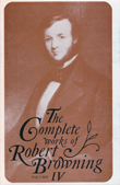 Cover of 'The Complete Works of Robert Browning, Volume IV'