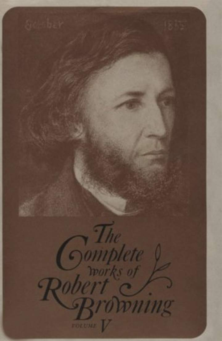 Cover of 'The Complete Works of Robert Browning, Volume V'