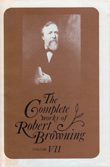 Cover of 'The Complete Works of Robert Browning, Volume VII'